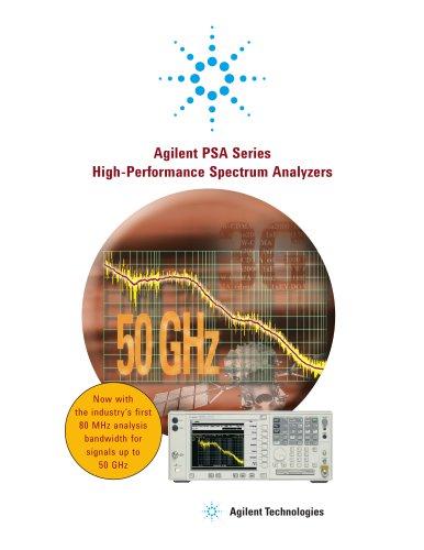 PSA Series High-Performance Spectrum Analyzers