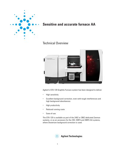 Sensitive and accurate furnace AA