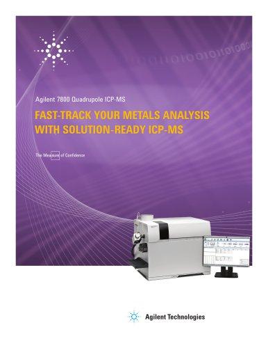 Solution-ready Agilent 7800 ICP-MS