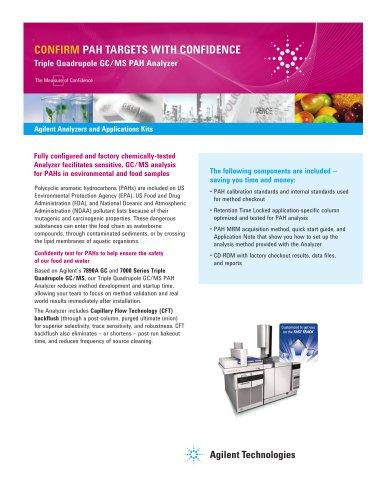 Triple Quadrupole GC/MS PAH Analyzer