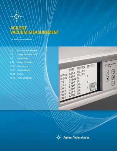 Vacuum Measurement Catalog