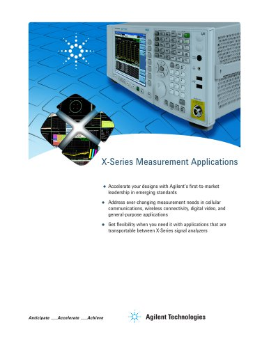 X-Series Measurement Applications