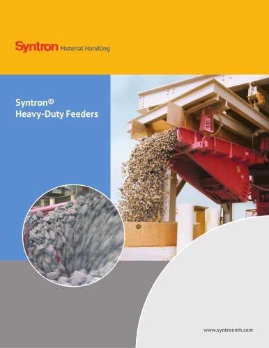 Syntron Heavy-Duty Feeders Catalog