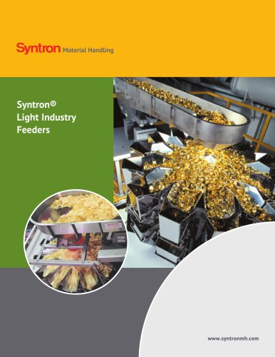 Syntron Light Industry Vibrating Feeders