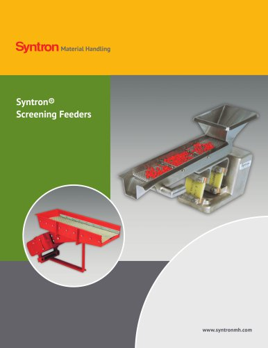 Syntron Screen Feeders