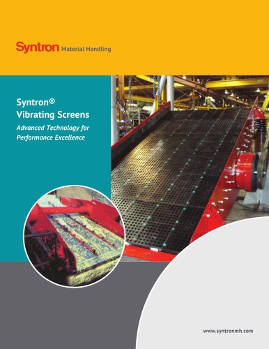 Syntron Vibrating Screens