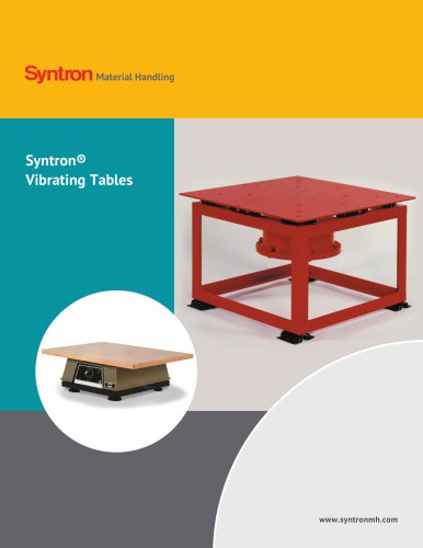 Syntron Vibrating Tables