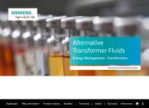 Alternative Transformer Fluids Energy Management - Transformers