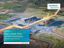HVDC – High-voltage direct current transmission Unrivaled practical experience