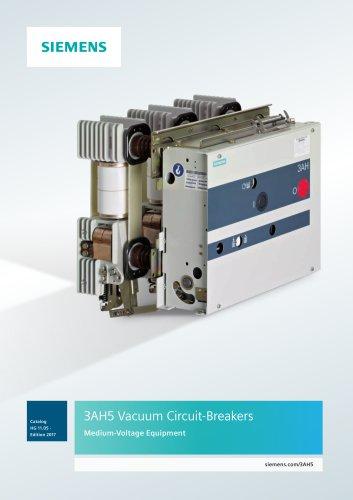 3AH5 Vacuum Circuit-Breakers Medium-Voltage Equipment