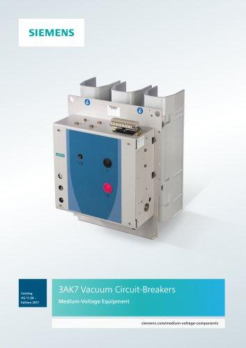 3AK7 Vacuum Circuit-Breakers Medium-Voltage Equipment