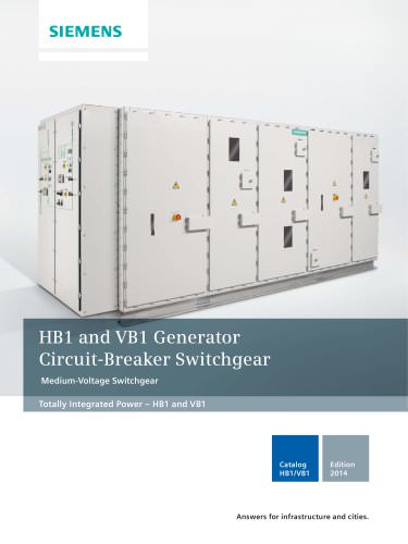 HB1 Generator Circuit-Breaker Switchgear