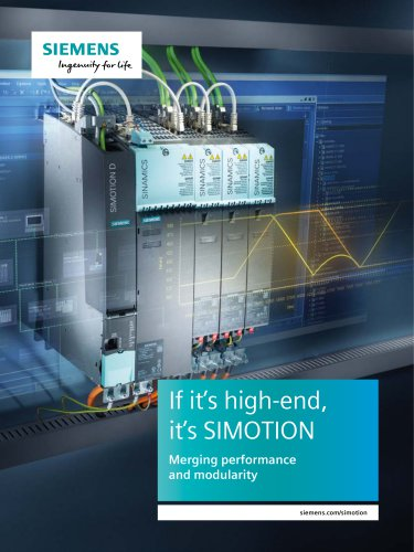 If it's high-end, it's SIMOTION