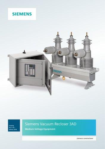 Siemens Vacuum Recloser 3AD