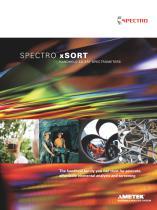 SPECTRO xSORT Family Brochure