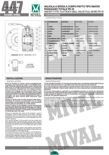Ball valve – Item 447