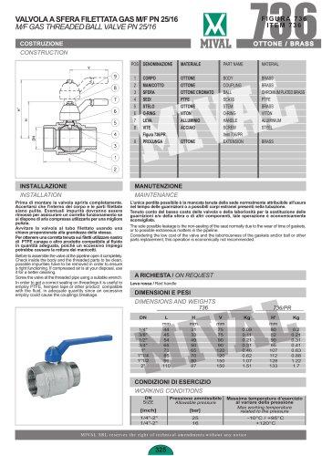 Ball valve – Item 736