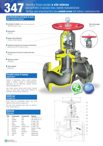Bellows valve – Item 347