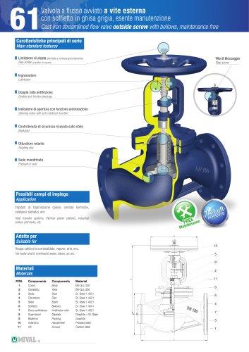 Bellows valve – Item 6