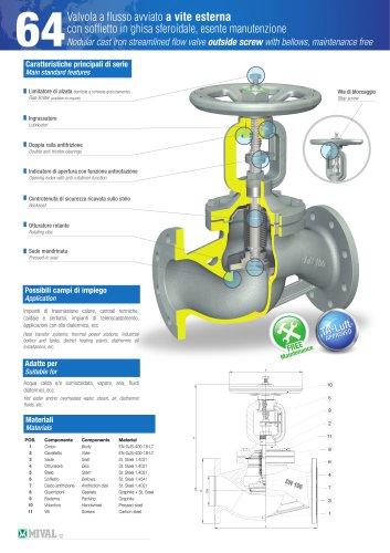 Bellows valve – Item 64