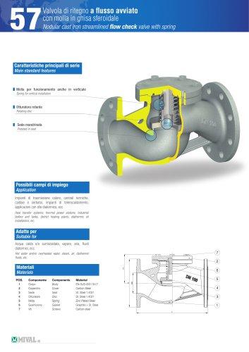 Check valve – Item 57