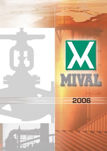 MIVAL VALVES