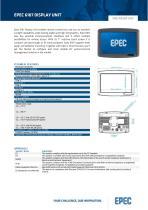Epec Datasheet 6107 Display Unit