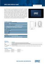 Epec Datasheet 6505 Display Unit