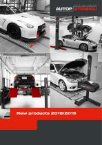 New products 2018/2019
