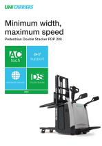 Pedestrian Double Stacker PDP 200