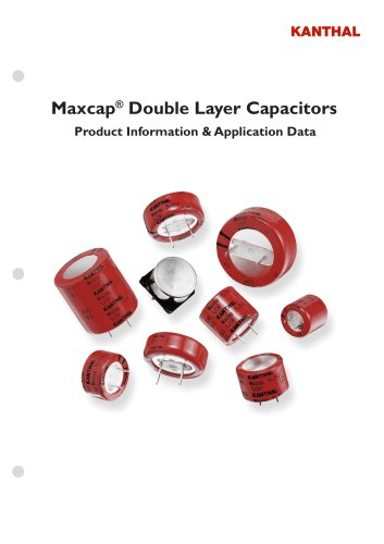 double layer capacitors