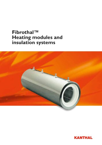 Fibrothal™ Heating modules and insulation systems