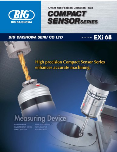 Offset and Position Detection Tools compact sensor series