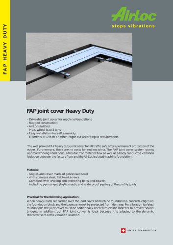 AirLoc Flyer FAP Joint Cover