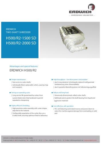 Two-Shaft Shredder H500/2 SD