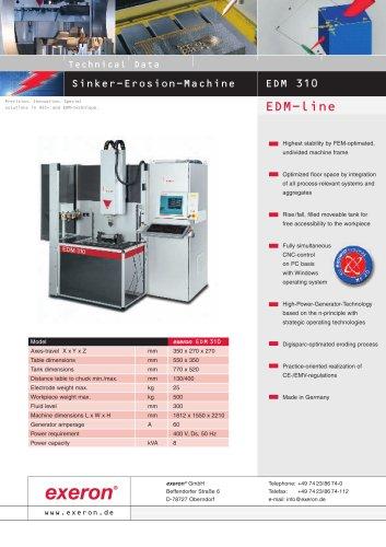 EDM 310 - EXERON - PDF Catalogs | Technical Documentation