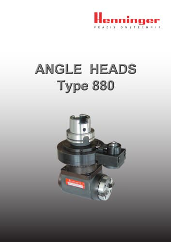 ANGLE HEAD TYPE 880