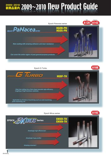 2009-2010 New Products Guide