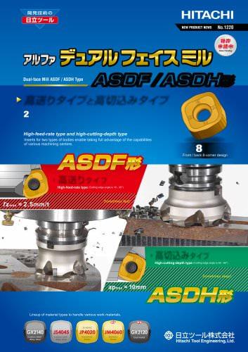Dual-face Mill ASDF / ASDH type