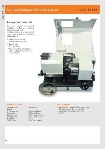 Cutter-grinding machine TSM-16