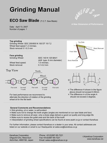 ECO Saw Blade