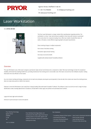 Laser Workstation