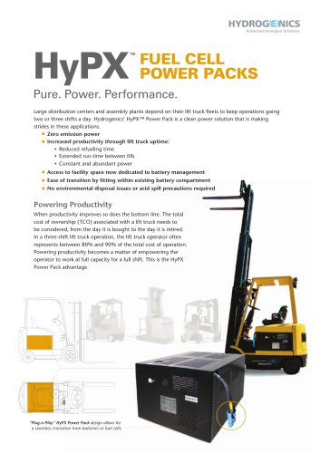 HyPX Fuel Cell Power
