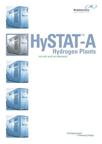 HySTAT-A Hydrogen Generator Plant