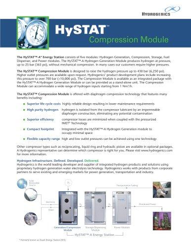 HySTAT Compression Module fact sheet