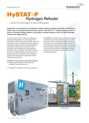HySTAT-P Hydrogen Refueler