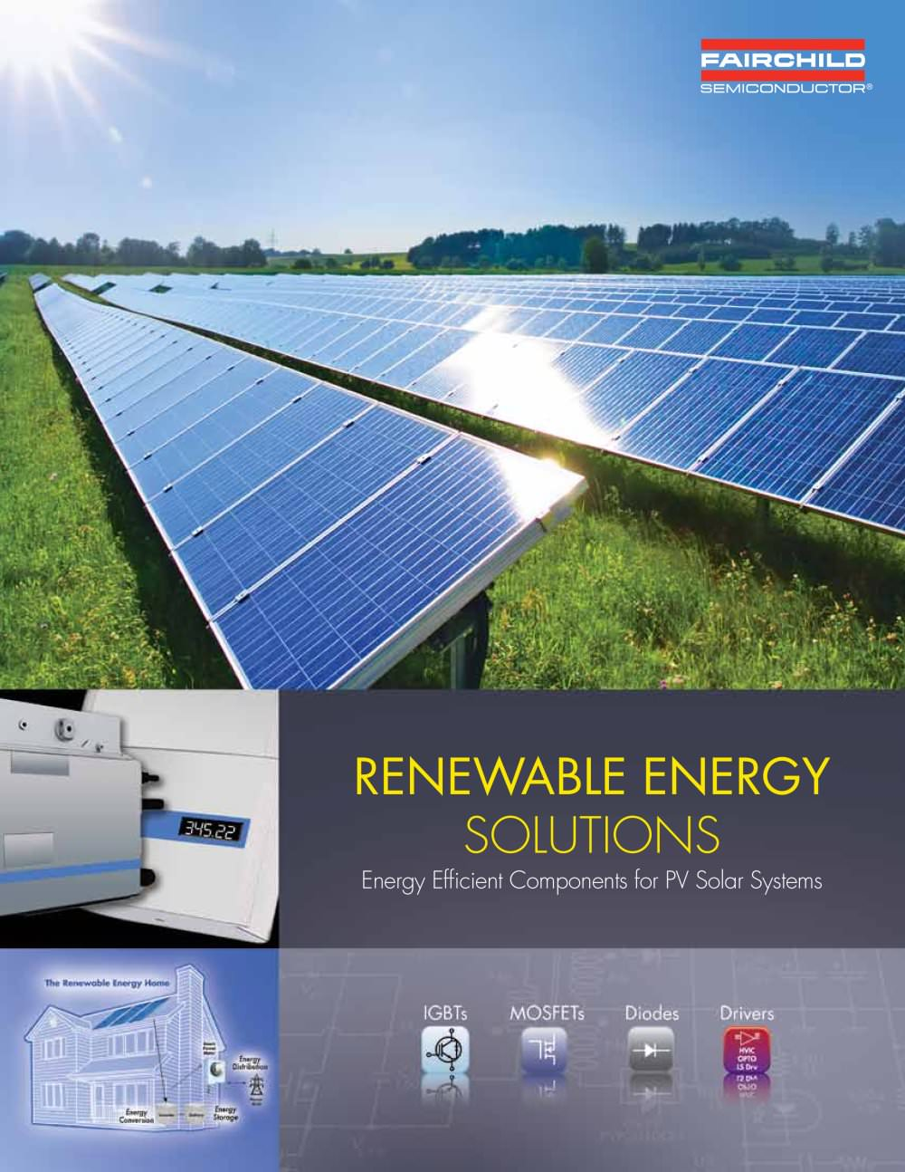 Renewable Energy Solutions Fairchild Semiconductor Pdf Catalogue Solar Microinverter Panel System Design Electronic Products 1 32 Pages