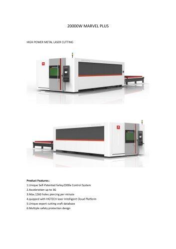 20000W Laser Cutting Machine