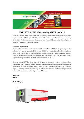 FARLEY LASERLAB Attending MTT Expo 2015