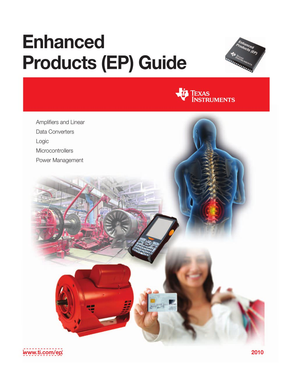 Enhanced Products Ep Guide Texas Instruments Semiconductor Pdf Octal High Speed A D Converters 1 29 Pages